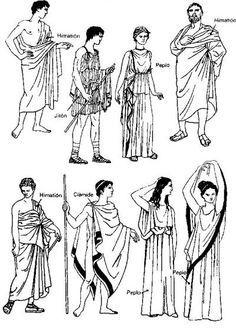 El traje en la Antigua Grecia