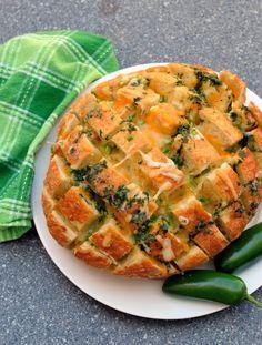 Jalapeno Popper Pull Apart Bread Recipe on Yummly. @yummly #recipe