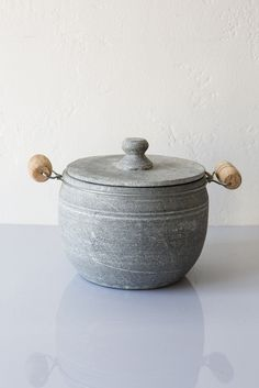 brazillian soapstone pot – Lost & Found