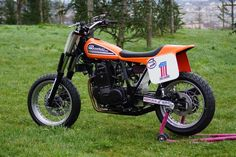 XR 560 ROTAX Dirt Track by Replica Bike #motorcycles #dirttracker #motos | caferacerpasion.com
