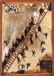 The Ladder of Divine Ascent - OrthodoxWiki. The Ladder of Divine Ascent is an ascetical treatise on avoiding vice and practicing virtue so that at the end, salvation can be obtained. Written by Saint John Climacus initially for monastics, it has become one of the most highly influential and important works used by the Church as far as guiding the faithful to a God-centered life, second only to Holy Scripture..