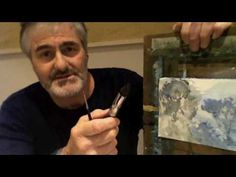 Stephen Mann Water Colour Tip and Trick #3  Use less and less water with your paints on subsequent layers to avoid tidal waves of color moving where you don't want it to.