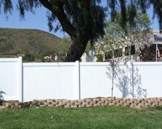 Privacy fencing for front yard or back yard. High quality vinyl fence experts. Home improvement made easy at www.outdoorlivingdc.com