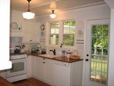 cute small kitchen idea