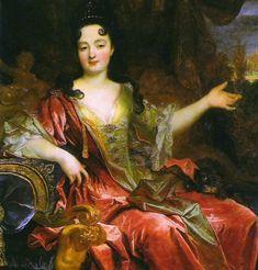 Dame Anne-Marie de La Trémoïlle de Noirmoutier, Princesse douairière de Chalais, Princesse Orsini, Duchesse de Bracciano (1642-1722).