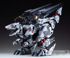 MECHA GUY: ZOIDS HMM Series 1/72 Berserk Fuhrer - Painted Build