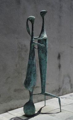 Jorge Vieira, Sem título, 1957, bronze  Untitled, 1957, bronze (sculpture for the Comptoir Suisse, Lausanne)