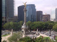 El Angel de la Independencia~ Avenida Reforma, Mexico D.F., Ciudad de Mexico. The Angel of Independence! Reforma Avenue, Mexico. D.F., Mexico City.