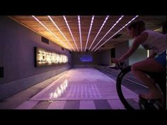 A video of HidroFloor working @ Chalet Cyanella by Bo Design
