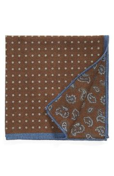 Ted Baker London Wool Pocket Square