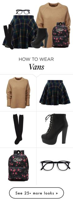 """""""Untitled #743"""" by bakemona13 on Polyvore featuring Joseph, Chicwish, Aéropostale and Vans"""