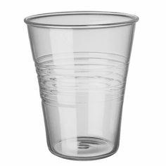 Fast Cup Drinking Glass// i like objects that are glass..so here is a glass cup that looks plastic..perfect!