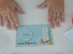 Clear Scraps Send It Clear Card Tutorial.  How to create a Clear Scraps Send It Clear Card by our very own Pinky Hobbs