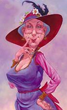 Ladies over if you don't wear a Red Hat and purple outfit you don't know what you are missing. Come and let Penny Pinching Grandma tell you all about it. Louis Jover, Red Hat Club, Red Hat Ladies, Wearing Purple, Ladies Club, Red Hat Society, Purple Outfits, Cartoon People, Red Hats