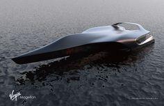 Virgin Magellan Hydrofoil Motoryacht on Behance