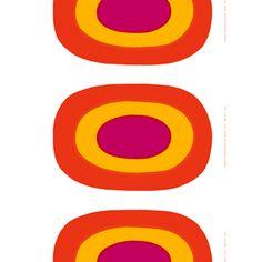 Marimekko Melooni Red/Yellow