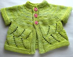 Ravelry: Meadowsweet Cardigan pattern by Sarah Franklin