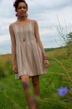 Kimmy Dress - Liz Alig. Fair trade AND recycled fabric!