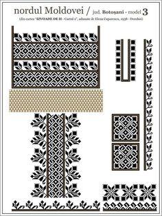 See the source image Simple Cross Stitch, Cross Stitch Borders, Cross Stitch Patterns, Folk Embroidery, Embroidery Patterns, Blackwork, Palestinian Embroidery, Embroidery Techniques, Beading Patterns