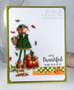 I am So Thankful card by Michele Boyer - SCTMagazine WCMD