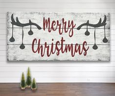 Merry Christmas Wood Sign Woodlands Above Mantel Decoration Merry Christmas Wood Sign Woodland Christmas Cabin Christmas Wall Decor Above Mantel Christmas Decoration Cabin Christmas, Merry Christmas Sign, Christmas Signs Wood, Christmas Fireplace, Woodland Christmas, Rustic Christmas, Christmas Art, Christmas Projects, Beautiful Christmas