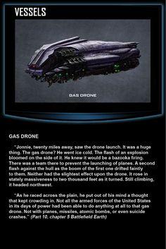 "Battlefield Earth, ""Gas Drone"" http://battlefieldearth.com/weapons/ @BE_the_Book #KnowledgeIsPower!#AwesomeTeam♥#Odycy☮:-)"