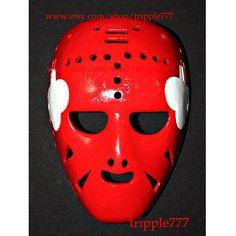 Hockey mask, Hockey goalie, NHL ice hockey, Roller Hockey, Hockey goalie mask, Hockey helmet Gary Bromley mask HO43