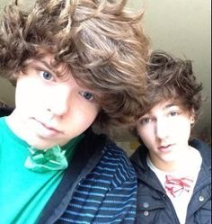 Danny Edge and Paul Zimmer. I literally get in moods where I want to watch their videos because they make me laugh xD Suits For Guys, Danny Edge, Youtube Vines, Fluffy Hair, Beautiful Inside And Out, Best Youtubers, Dan And Phil, Man Crush, I Laughed