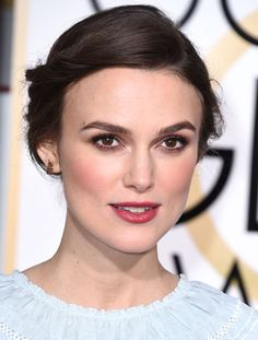 Keira Knightley et son maquillage prune