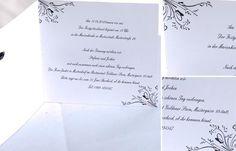Schwarz und Weiß Hochzeitsthema Idee http://www.optimalkarten.de/blog/schwarz-und-weis-hochzeitsthema-idee/