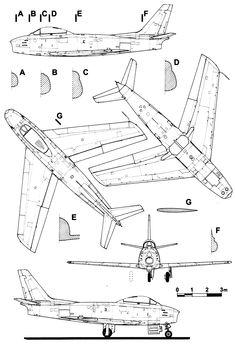 Northrop f 5 blueprint aircraft modern post 1950 pinterest cl 13 sabre blueprint malvernweather Images