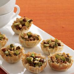 Baklava Cups ~ Sweet, crunchy and irresistible, this recipe takes just minutes to make