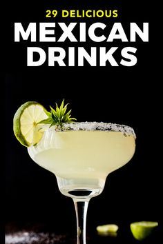 Alcoholic Drinks In Mexico, Mexican Drinks, Drinks Alcohol Recipes, Fun Drinks, Yummy Drinks, Mexican Food Recipes, Cold Drinks, Drink Recipes, Beverages