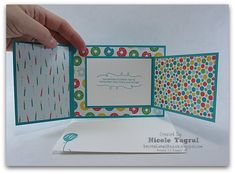 Joy Fold Cards for the Create with Connie and Mary Saturday Blog Hop - Be Creative With Nicole