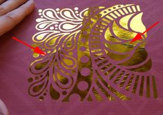 In last week's blog post, I was talking about creating Foil Accents on fabric and paper …
