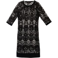 Isabel Marant Caira lace dress ($765) ❤ liked on Polyvore