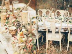Antler Wedding Decor - already have the antlers! Antler Centerpiece, Flower Centerpieces, Wedding Centerpieces, Wedding Decorations, Forest Wedding, Fall Wedding, Our Wedding, Dream Wedding, Wedding Ideas