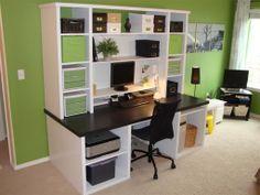 ikea hack desk | Favorite Places & Spaces