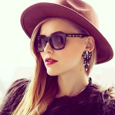 Dial up the embellishments. #sunglasses