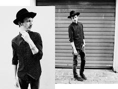 H Dot Shirt, Vintage Hat, Vintage Watch