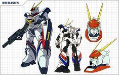 機甲戦記ドラグナーWeb [メカニック紹介] Battle Robots, Cool Robots, Mecha Anime, Super Robot, Designs To Draw, Gundam, Science Fiction, Animation, Manga