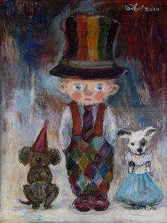 Nino Chakvetadze, 1971 | Children painter