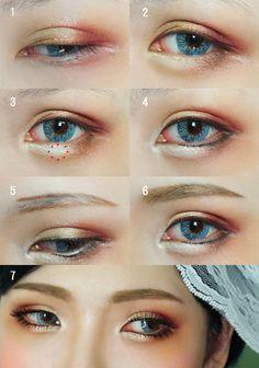 Eye Makeup Tutorial by mollyeberwein.deviantart.com on @DeviantArt