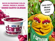 Uno tira l'altro, arriva il nuovo gustosissimo Danio Snack GUSTO CILIEGIA! http://www.daniosnack.it/gusti/gusto-ciliegia