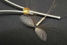 Spent Mayfly with Wally wing (dry fly) - excellent tutorial - many techniques and tools SAVE