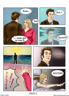 Doctor Who Comic - page 2 of 5 by ~Rhea-Batz on deviantART