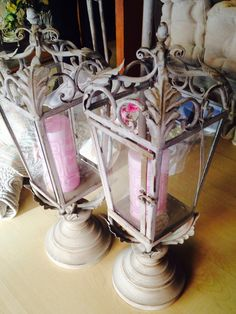 Lanterne#blanc maricló# maison angela