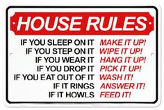Image result for roommate RULES