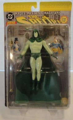 The Spectre Action Figure MOC DC Direct Glow in Dark Mages Mystics Magicians  #DCDirect