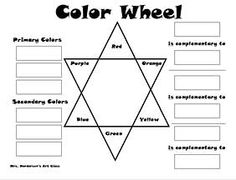 12 section colour wheel free pictures Painting